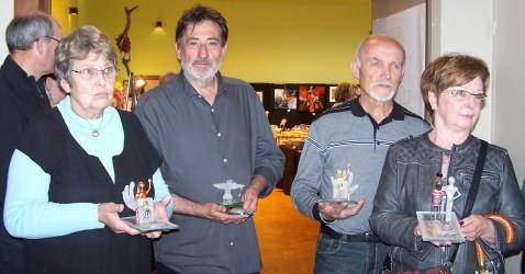Les lauréats des CREADOR 2016