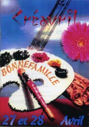 Affiche du 1er Créavril en 1996