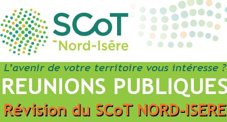 Réunions Publiques SCoT Nord Isère