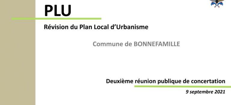 À Bonnefamille le Plan Local d'Urbanisme en pleine discussion